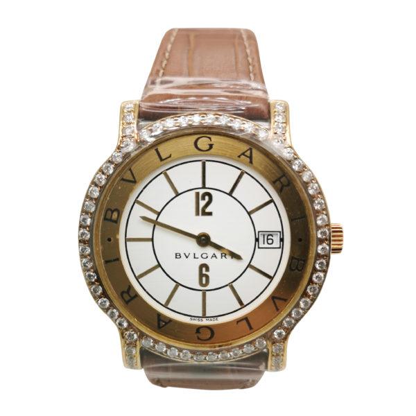 Bvlgari Solotempo Diamond Watch, ValueMax Jewellery Shop, Singapore