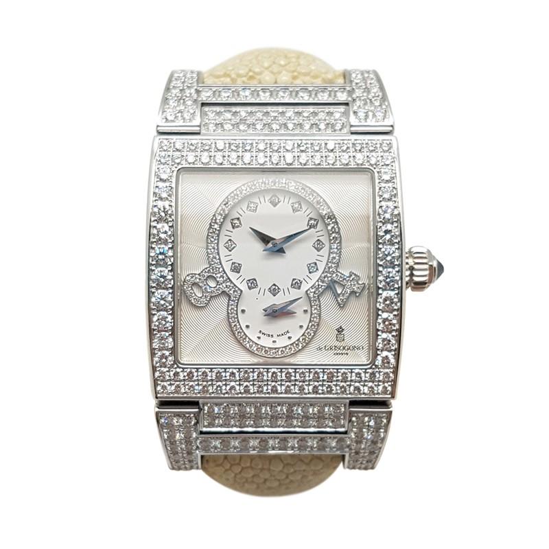18K White Gold De Grisogono with Diamond