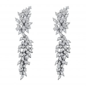 White Diamond Earring