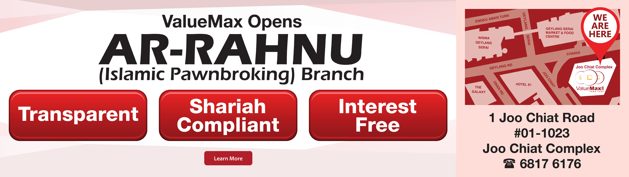 Ar Rahnu – Islamic Pawnbroking in Singapore